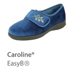 EasyB® Caroline | Supportive house shoes, more supportive than slippers. Machine washable