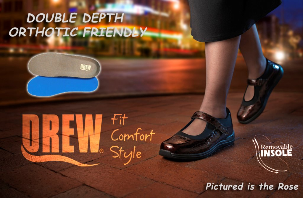 Removable Insoles | Double Depth, Orthotic Friendly